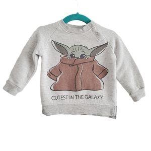 Disney Star Wars Cutest in The Galaxy Sweatshirt